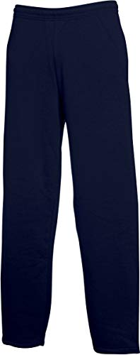 Fruit of the Loom Classic Open Leg Jog Pants marine,XXL