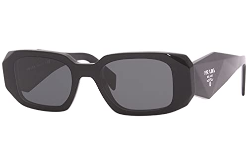 Prada Gafas de Sol PR 17WS Black/Grey 49/20/145 mujer
