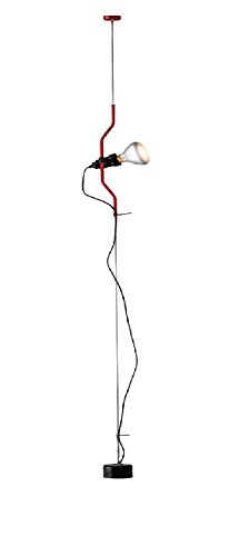Flos - Lámpara paréntesis roja