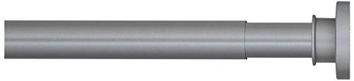 Sealskin stang voor douchegordijn, metaal, aluminium mat, 2,8 x 2,8 x 220 cm