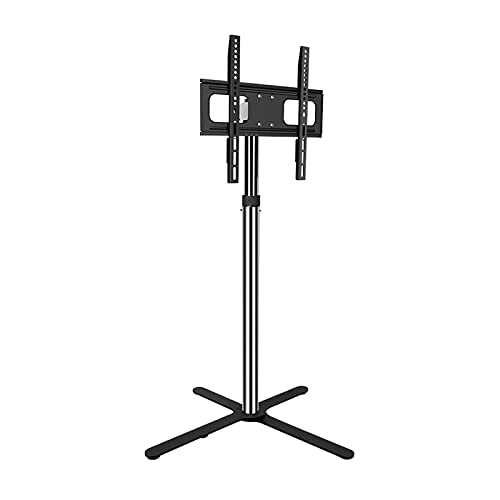 Suelo TELEVISOR Monte de pie universal TELEVISOR Altura de soporte ajustable, inclinación, giratorio TELEVISOR Monte para televisores de pantalla plana de 32 a 50 pulgadas, máx. VESA 400X40 0mm tiene