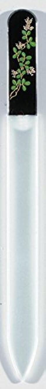哲学博士リーフレット豪華な蒔絵 ブラジェク製 爪ヤスリ 九月 萩 紀州漆器