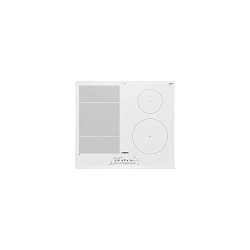 Siemens EX652FEB1F hobs Blanco Integrado Con - Placa (Blanco, Integrado, Con placa...