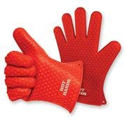 Hot Hands- Non-Slip Silicon Cooking Gloves- 2 pack