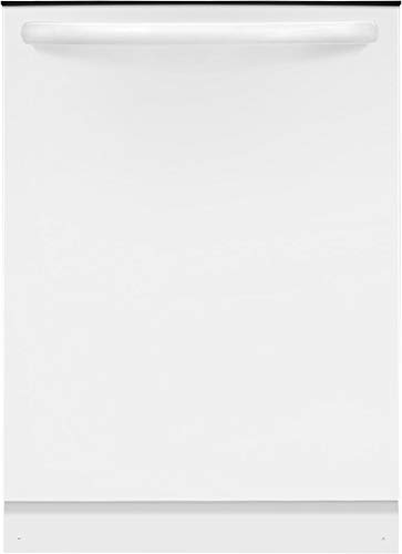 Frigidaire FFID2426TW 24 Inch Built In Dishwasher with 4 Wash Cycles, 14 Place Settings, Hard Food Disposer, NSF Certified, Energy Star Certified, UL Certification (White)