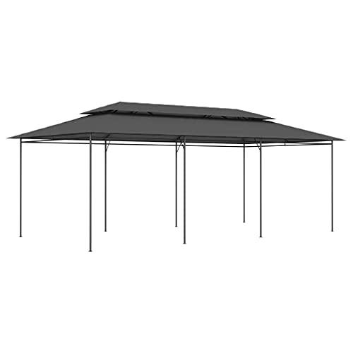 vidaXL Paviljon 600 × 298 × 270 cm antracit