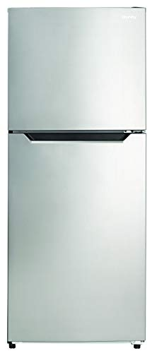 Danby DFF101B1BSLDB 10.1 Cu.Ft. Apartment Size Top Mount Refrigerator Freezer, for Condo, House, Kitchen, in Fingerprint Free Stainless Finish