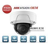 4MP PoE Security IP Camera - Compatible with Hikvision Performance Series DS-2CD2145FWD-I Mini Dome EXIR Night Vision 2.8mm Fixed Lens H.265+ 3 Year Warranty Also Compatible with DS-2CD2143G0-I