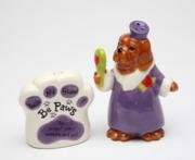 Be Paws You Accept Me Wrinkles and All Dog Salt and Pepper Shakers