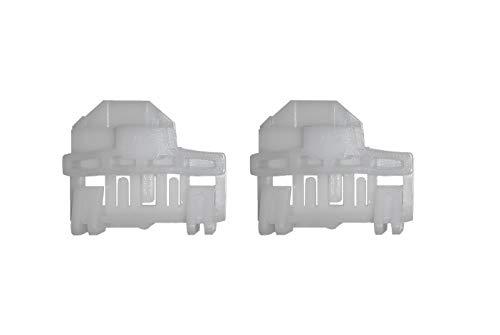 Twowinds - 2x Clips reparación de elevalunas eléctricos Delantero Izquierdo 8D0837461 A4 Arosa Passat Polo