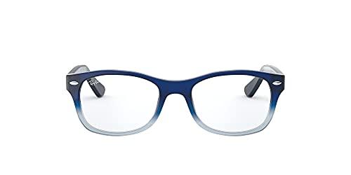 Ray-Ban 0RY1528 Gafas de Sol, Opal Blue Faded Opal Azure, 46 Unisex-Niño