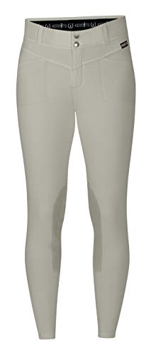 Kerrits Crossover II Knee Patch Breech Sand Size: Medium
