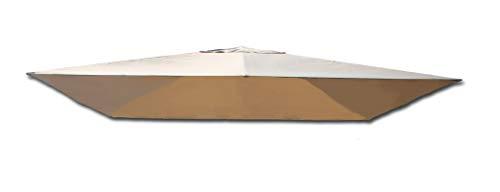 TrendLine Ersatzdach 3 x 3 m für Pavillon Menorca Beige Pavillondach