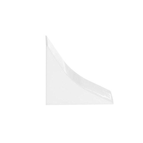 HOLZBRINK Tapa: de PVC a juego con el copete de encimera blanco 23x23 mm