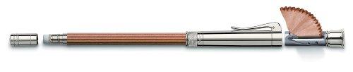 Graf von Faber-Castell 118567 Perfekte Bleistift mit verlängerer, inklusive Spitzer, braun