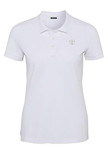 Chiemsee Damen Poloshirt Woman Shirts & Blusen, Bright White, S