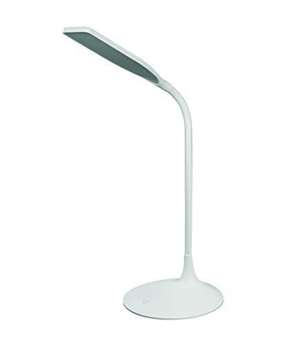 LEDVANCE LED Schreibtisch-Leuchte, Leuchte für Innenanwendungen, Warmweiß, Dimmbar per Touch-Schalter, Panan Disc Single
