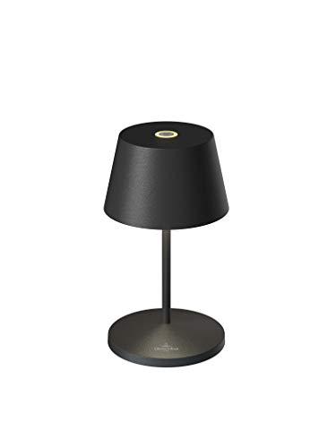 Villeroy & Boch Tischleuchte Seoul 2.0 LED mit Akku & Ladestation - in verschiedenen Farben, Farbe:schwarz