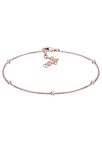 Elli Armband Damen Basic Modern mit Kristalle aus 925 Sterling Silber