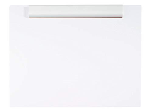 MAUL Klemmbrett DIN A3, Quer, Bruchsichere Zeichenplatte, Verwindungssteif, Weiß, 430x330x15 mm, 2318202, 1 Stück