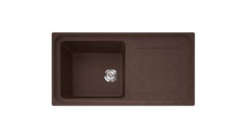 Franke img 611 – 97 Fragranite – Évier (Fragranite, chocolat, 1 seins, 450 x 400 mm, 22 cm, 970 mm)