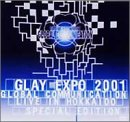 GLAY EXPO 2001 GLOBAL COMMUNICATION LIVE IN HOKKAIDO SPECIAL EDITION 限定盤 DVD