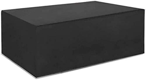 Cubierta para muebles de patio impermeable 170 * 95 * 70 cm, cubiertas rectangulares para muebles de jardín, cubiertas para mesas de patio al aire libre 420D Oxford resistente, cubiertas para juegos