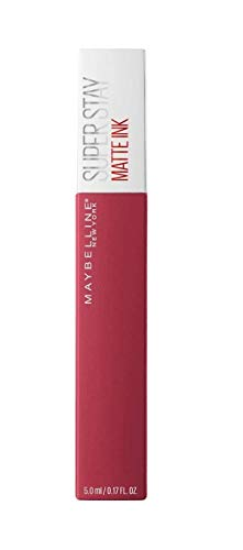 Maybelline New York - Superstay Matte Ink, Pintalabios Mate de Larga Duración, Tono 80 Ruler