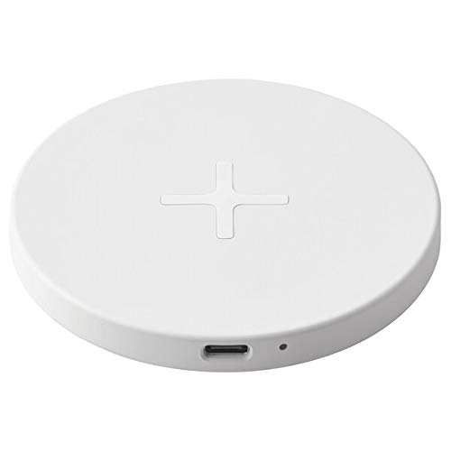 Ikea - Base de carga inalámbrica Qi LIVBOJ con puerto USB-C 704.652.46,...