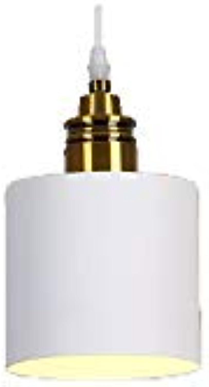 Skoy iyue LED Pendelleuchte Nordic Modern Einfache Kreative Persnlichkeit Bar Theke Schlafzimmer Restaurant Esszimmer DREI Kpfe Single Head Bedside Pendelleuchten,D-13cm18cmWeiß