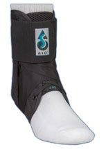 Med Spec 264014 ASO Ankle Stabilizer, Black, Medium (2 Pack)