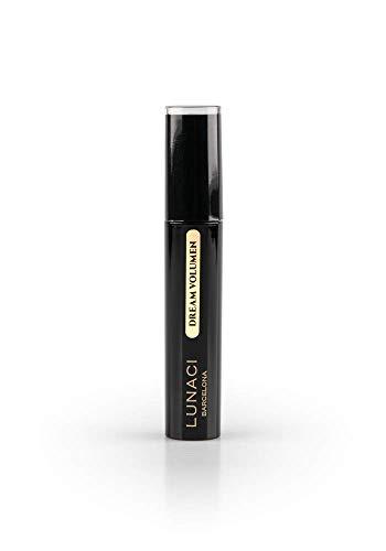 Lunaci Barcelona Maquillaje Máscara de Pestañas negra, Great Volume Effect Con keratin, sin grumos, sin carbón, hypoallergenic, vitamin E