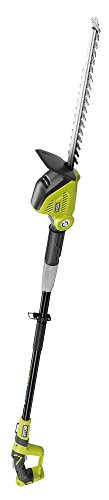 Ryobi One + 18 V Opt1845 Pole Taille-Haies sans Fil, Lame de 45 cm (Corps uniquement), OPT1845,...