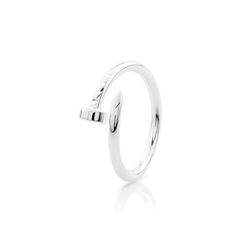 Nagelform Sterling Silber Ring (M 1/2)
