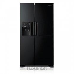 Samsung RSH7PNBP Freistehend A+ Edelstahl Side-by-Side Kühlkombination