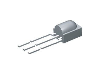 VISHAY OPTO TSOP38238 38 kHz 45 m 2.5-5.5 V Through Hole IR Receiver Module for Remote Control System - 25 item(s)