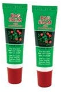 Vermont's Original Bag Balm Moisturizing Lip Balm .25 Ounce Twin Pack for Dry Skin, Cracked Heels, Dry Elbows, Chafing