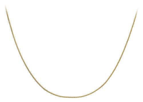 Carissima Gold Collana da Donna, in Oro Giallo 9K (375), Missura 46 cm