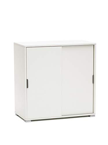 MeMi Me204BIA Scorrevole, Legno, Bianco, 38x75x85 cm
