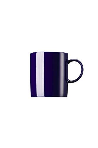 Thomas Sunny Day Becher mit Henkel, Kaffeetasse, Porzellan, Cobalt Blue / Blau, Spülmaschinenfest, 300 ml, 15505