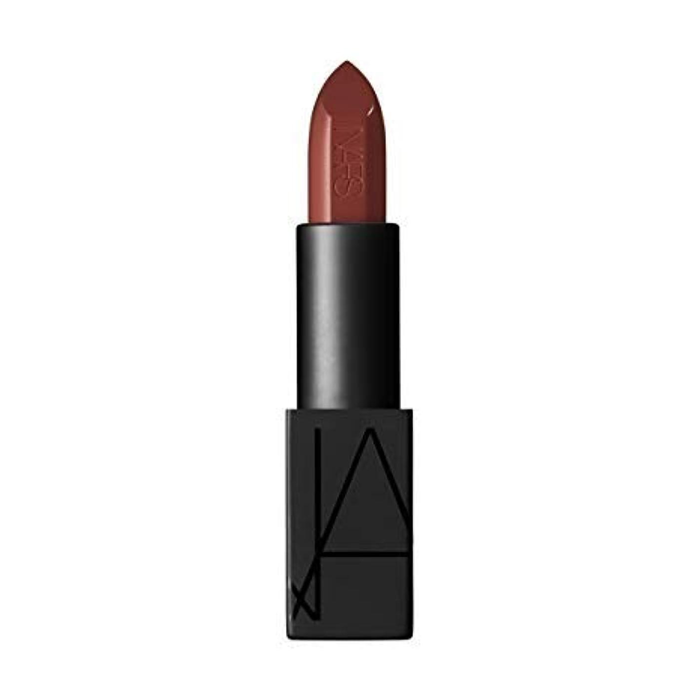 クラシックブランチと遊ぶNARS Audacious Lipstick - Mona