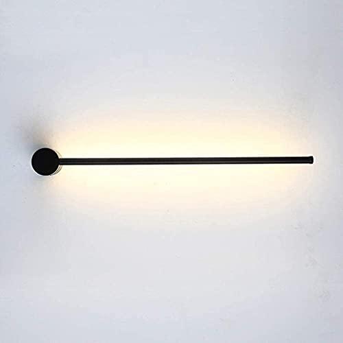 Apliques de pared, LED Minimalismo geométrico Pantalla giratoria Hierro forjado Metal Comedor Dormitorio Sala de estar Lámpara de lavado de pared moderna Luces de lavado de pared (Color: Negro 6000k)