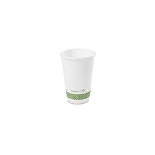 Vegware Lv-8 Hot Cup, 8 g, Blanc (lot de 50)