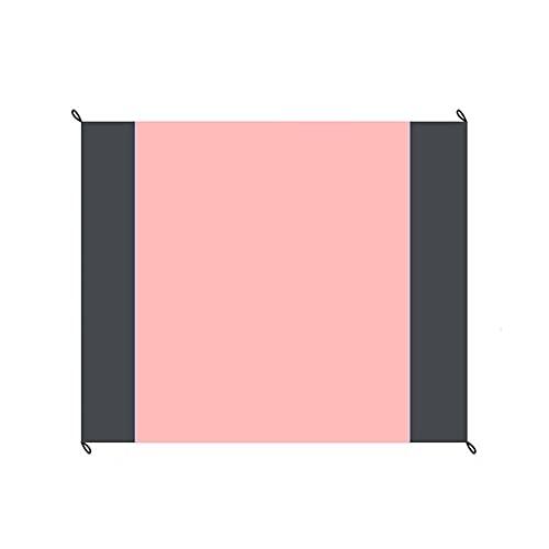 manta de picnic,Estera de playa impermeable y a prueba de humedad para acampar al aire libre, tapete de picnic plegable de bolsillo, cuerpo pequeño, verde + doble gris