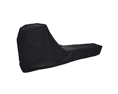 Rowing Machine Cover, Fitness Equipment Protective Cover and Oxford Waterproof Fabric are The Ideal Choice for Indoor and Outdoor use(Black)