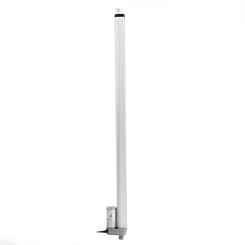 Akozon Electric Linear Actuator 12V Kraft 750N Hub 150-700mm Hubzylinder Elektromotor Halterung(700mm)