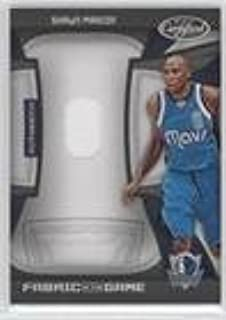 Shawn Marion #98/99 (Basketball Card) 2009-10 Panini Certified - Fabric of the Game - Jersey Number Die-Cut #FOG-SM
