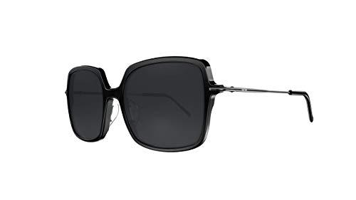 Óculos de sol TINA, Secret, Unissex, Preto Brilhante