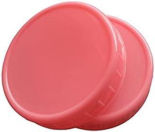 Actaday 10pcs 86mm Canning Lids Wide Mouth Reusable Leak Leak-Proof Jar Candy Food Storage Plastic Proof Split-Type Silver...
