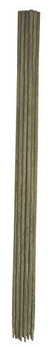 Biotop B2132 Pack de 20 Tutores Bambú, Marrón, 30x3x3 cm